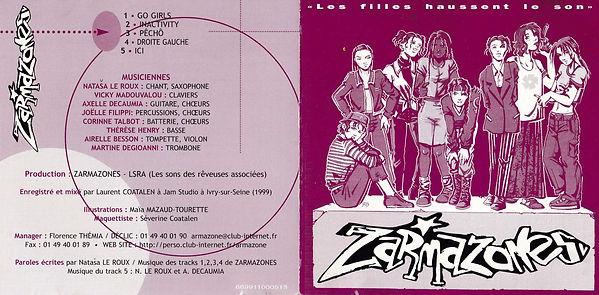 ZARMAZONES - CD
