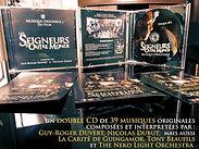 LES SEIGNEURS D'OUTRE MONDE (Le double CD)