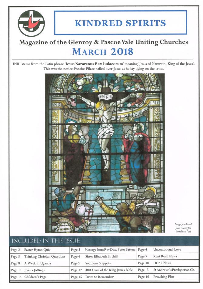 March 2018 Magazine