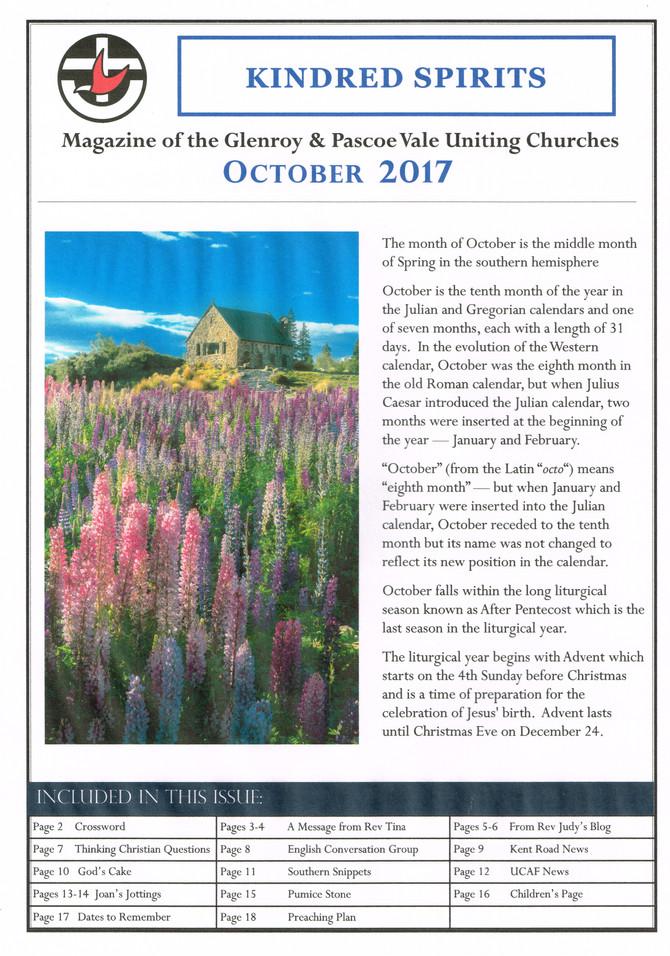 October 2017 Magazine
