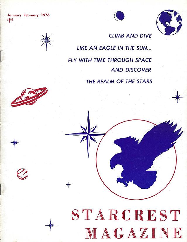 Star Crest Magazine Cover - January - Fe