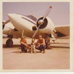 Bill & Dewitt with Zeke