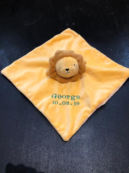 Leo the Lion baby comforter