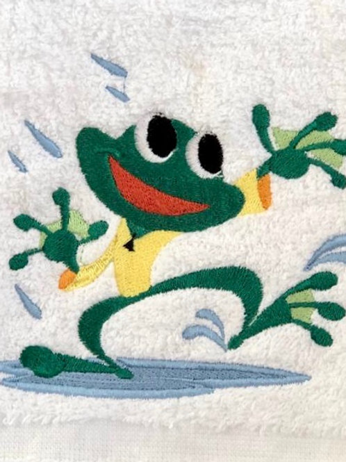 Freddie the Frog Hooded Towel