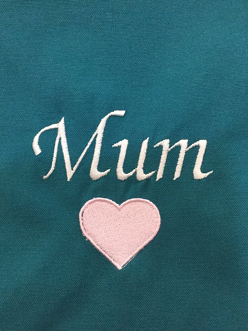 Love Mum, Dad, Grandad, Nana or any name or place