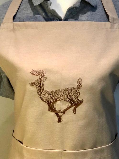 Branch Deer Apron