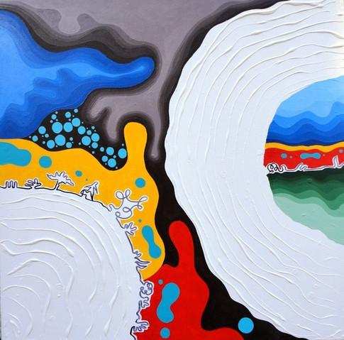 7_Escuridao Acrilica e textura_100 x 100