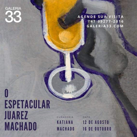 Visite de 12/8 à  16/10/21 uma exposição em homenagem ao maior artista Joinvilense de atualidade.