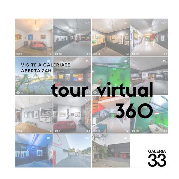 Visite a Galeria33 sem sair de casa!