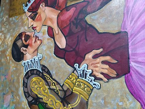Juarez Machado, óleo sobre tela 2016
