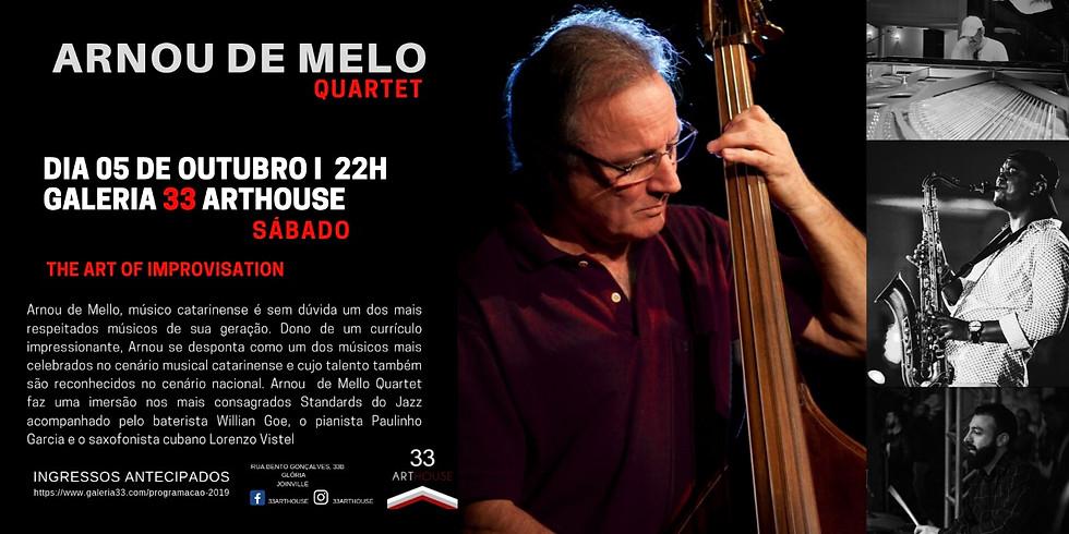 Show Arnou de Melo – Quartet  The Art of Improvisation