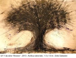 s/titulo - obra 1 da série árvores, 2013