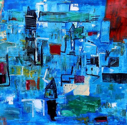 Alceu Bett | A cidade azul, 2020