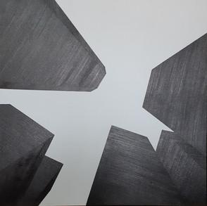 Elevações,2019 80x80cm