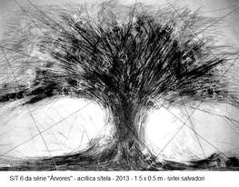 s/titulo - obra 6 da série árvores, 2013