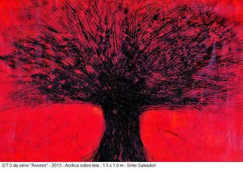 s/titulo - obra 3 da série árvores, 2013