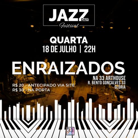 Quinteto Enraizados na 33 Arthouse
