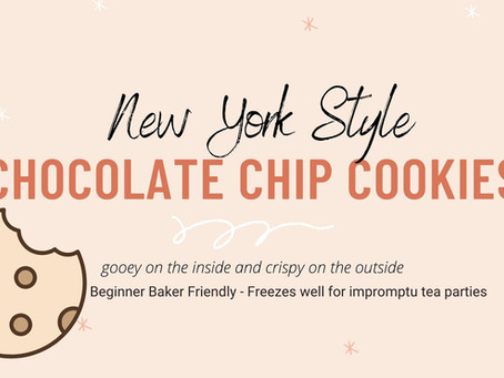 Chocolate Chip Cookies - NY Style
