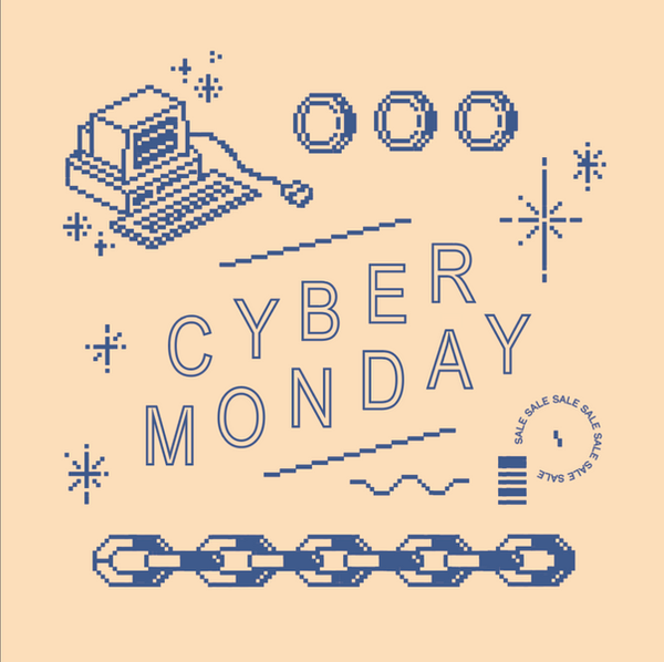 Cyber Monday Promo Graphic Colorway 2
