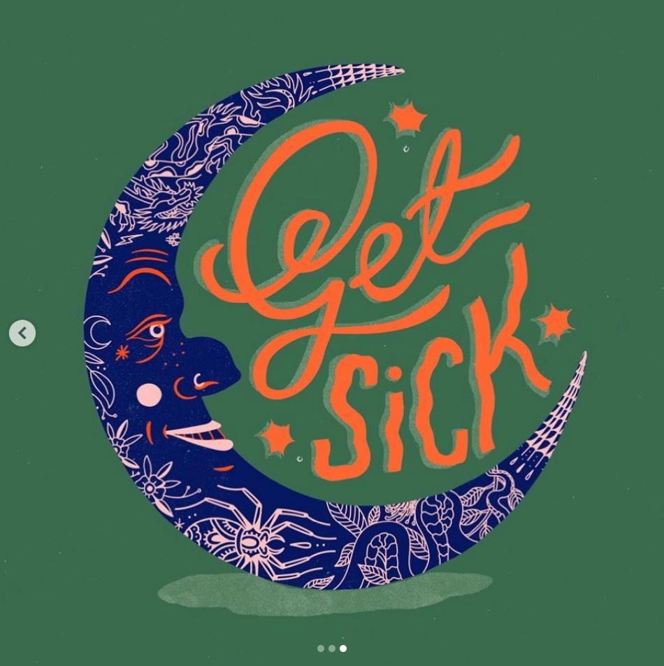 Get Sick Illustration