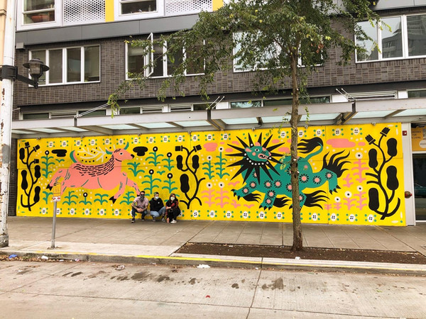 Belltown mural by Dan's