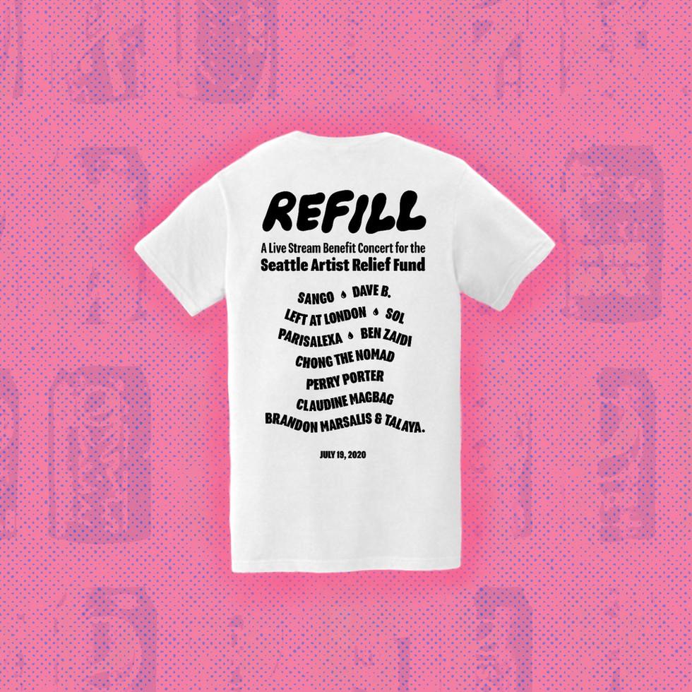Refill shirt design
