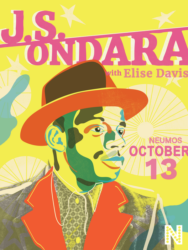 J.S. Ondara Neumos poster