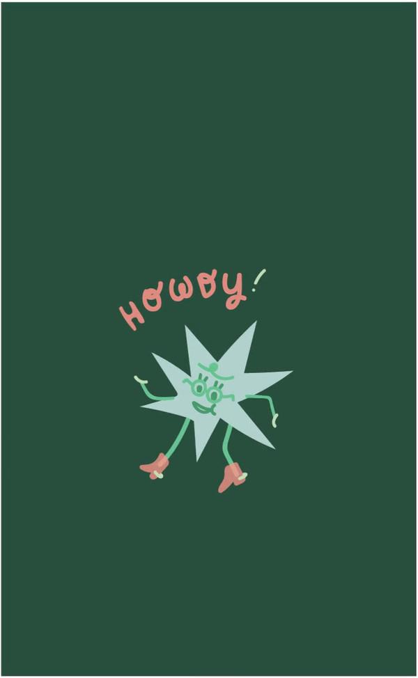 Star Howdy Animation