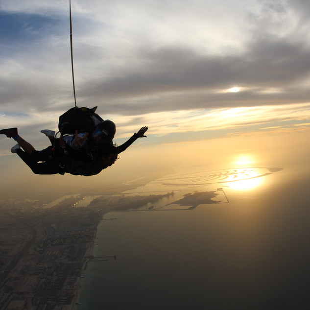 Sunset Skydiving