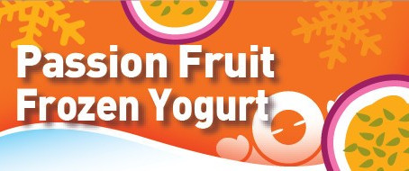 Passion Fruit FrozenYogurt