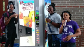 First quinzee machines placed in a U.S school, under USDA Smart- Snack program pilot