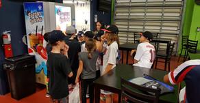 A Florida Baseball Academy installs a quinzee machine