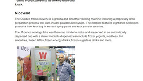 The quinzee @ a Kiosk marketplace article on Innovative new self-order kiosks