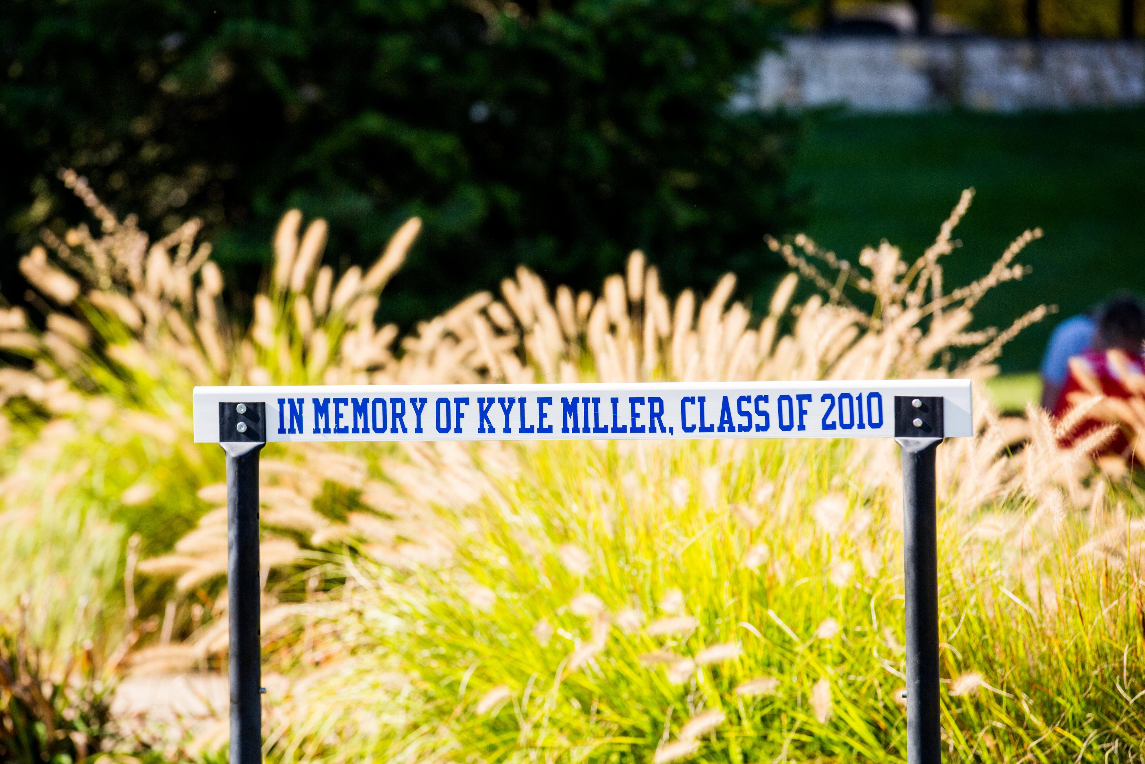 Kyle's Hurdle at Davidson HS