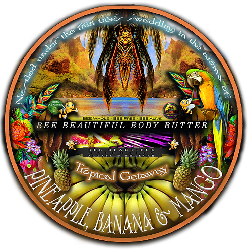'TROPICAL GETAWAY'; Ultra Hydrating Whipped Body Butter