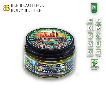 'BEE'S IN THE BONGO'S'; Hemp & Olive Luxury Body Souffle