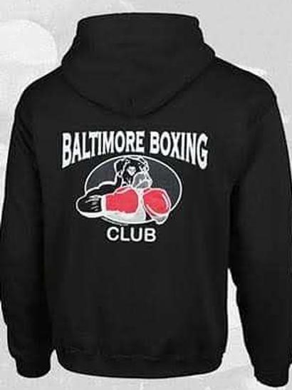 Baltimore Boxing Logo Hoodie