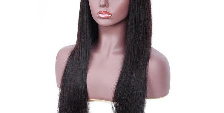 4x4 Straight Closure Wig