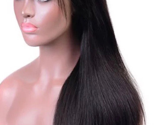 5 x 5 Straight Closure Wig