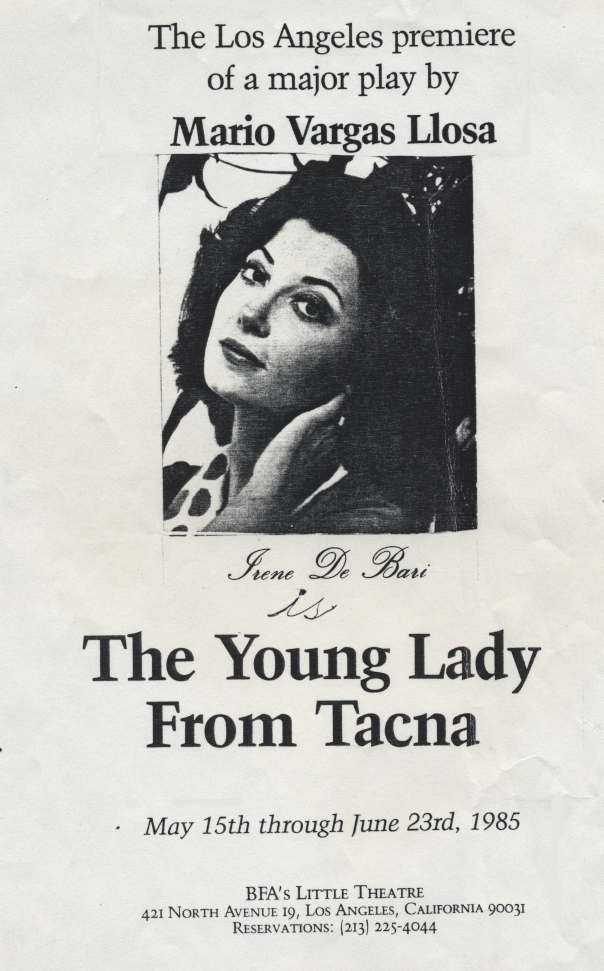 The Young Lady from Tacna