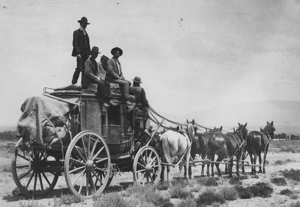 USPS Overland Mail Stagecoach