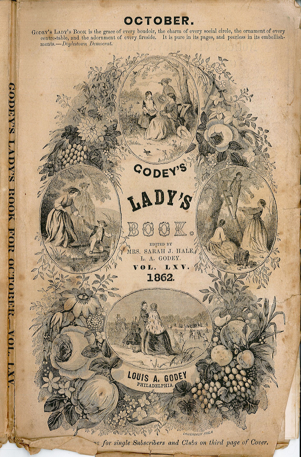 Godey's Lady's Book and Magazine, Vol. 64, June 1862.