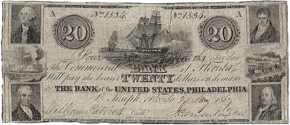 American Bank Note, 1837.