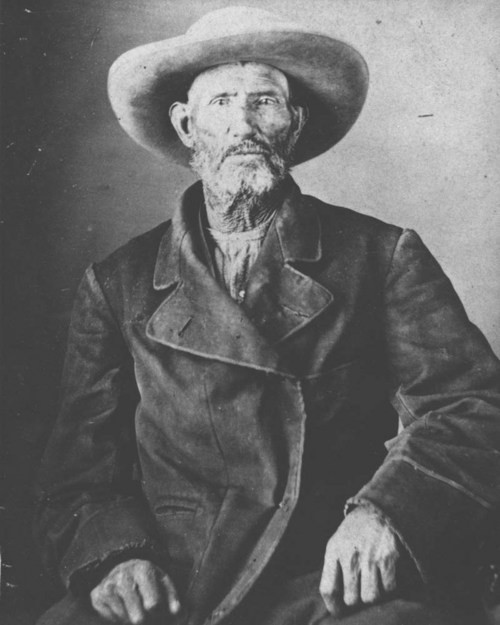Jim Bridger, American trapper, mountain man, Army scout and wilderness guide.