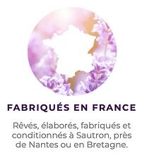 Cosmétiques fabriqués en France