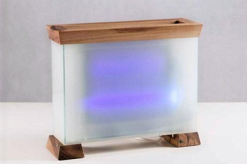 Nano čistička vzduchu (aircleaner) - dřevo/sklo