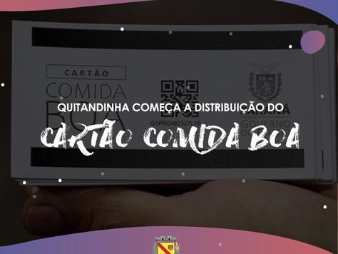 Cartão Comida Boa será entregue em Quitandinha