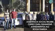 Assistência Social recebe carro para dinamizar atendimentos ao Bolsa Família