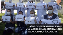 Saúde de Quitandinha rompe a marca de mil atendimentos relacionados à COVID-19