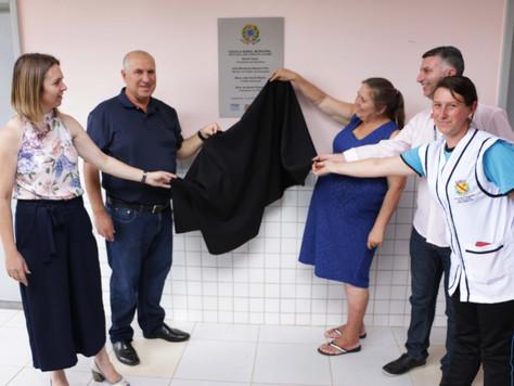 Prefeitura inaugura nova escola em Pangaré